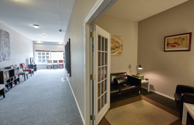 South Kingshighway Waiting Room looking into Therapy Room